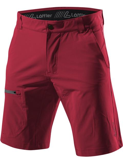 Löffler Comfort Stretch Light - Shorts Homme - rouge